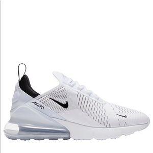 Nike Air Max 270 White/Black Sneakers 12